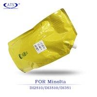 Copier Spare Parts 1PCS 1KG Toner Powder for Konica Minolta DI 2510 3510 1351 compatible DI2510 DI3510 DI1351 printer supplise