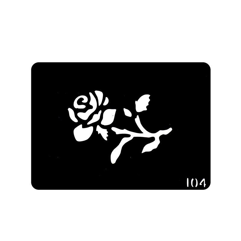 Online Kaufen Gro 223 Handel Rose Tattoo Vorlagen Aus China