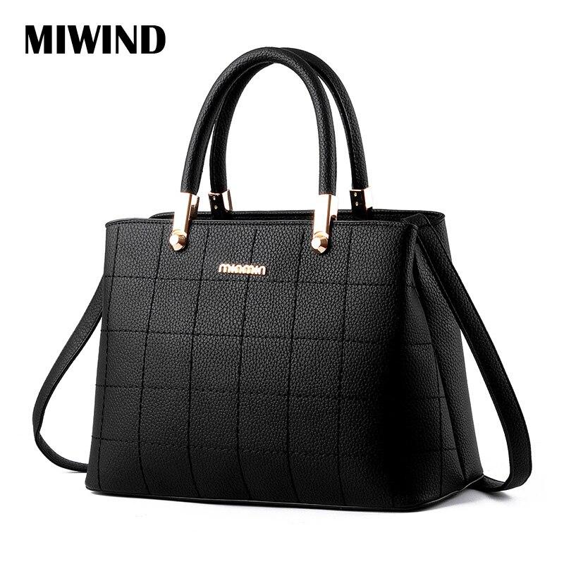 High Quality Women Leather Handbags Geometric Shoulder Bag Bolsa Feminina De Marca Famosa Designer Bags
