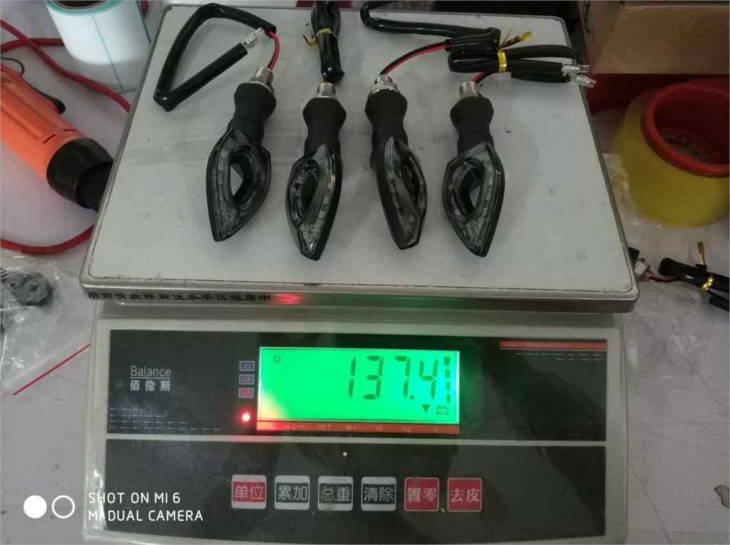 LED Universal de la luz LED de intermitente bicycleFor Suzuki GSXR 400/600/750/1000/1300 K1-K9 bandido HUYABUSA