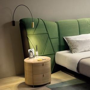 Image 3 - Bắc Âu Hiện Đại Đèn LED Dán Tường Kính Bóng Gương Phòng Tắm Besde Mỹ Retro Đèn Sconce