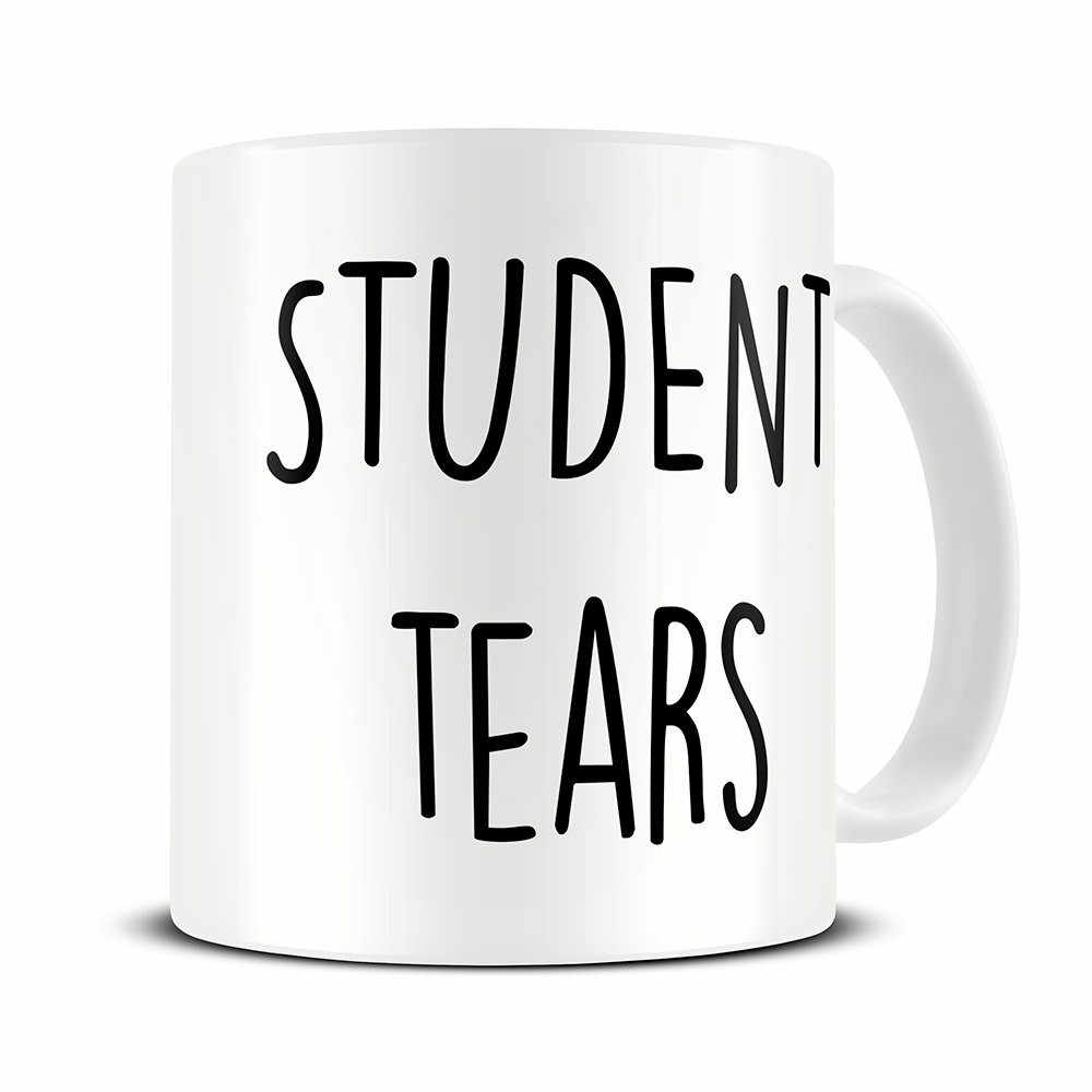 Student Tears Teacher Mugs Beer Coffee Ceramic Tea Cups Friend Gift Birthday Gifts
