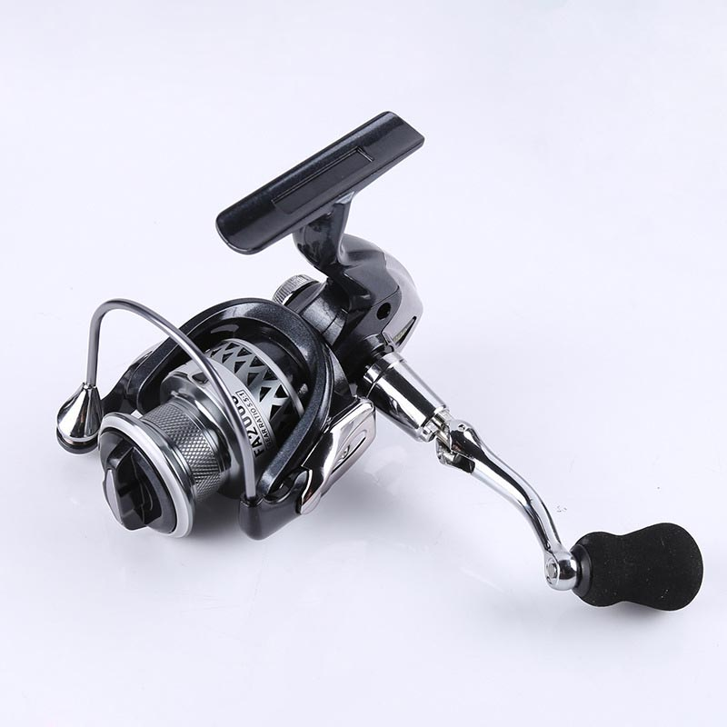 New type Full Metal Spinning Fishing Reels 5.5:1 Speed Throwing Far Drop Outdoor Freshwater Spinning fishing wheel Shipping Sale