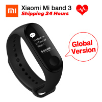 [Global Version] Original Xiaomi miband 3 mi band 3 Heart Rate Monitor Fitness Tracker 0.78'' OLED Display For Android IOS