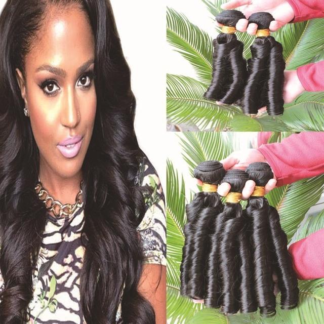 Magnificent Aliexpress Com Buy Unprocessed Hu Man Hair Weaves 3Bundles Lot Short Hairstyles Gunalazisus