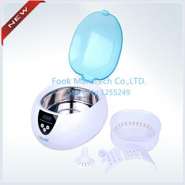 Offre spéciale!!! 750 ML Machine de nettoyage à ultrasons équipement dentaire bijoux outils réservoir matériel acier inoxydable SUS304