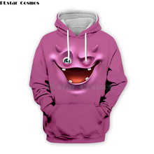 PLstar Cosmos Emoji Ahegao funny lovely Kawaii 3D Hoodies/Sweatshirt long sleeve Men Women Newest streetwear Harajuku fashion-7