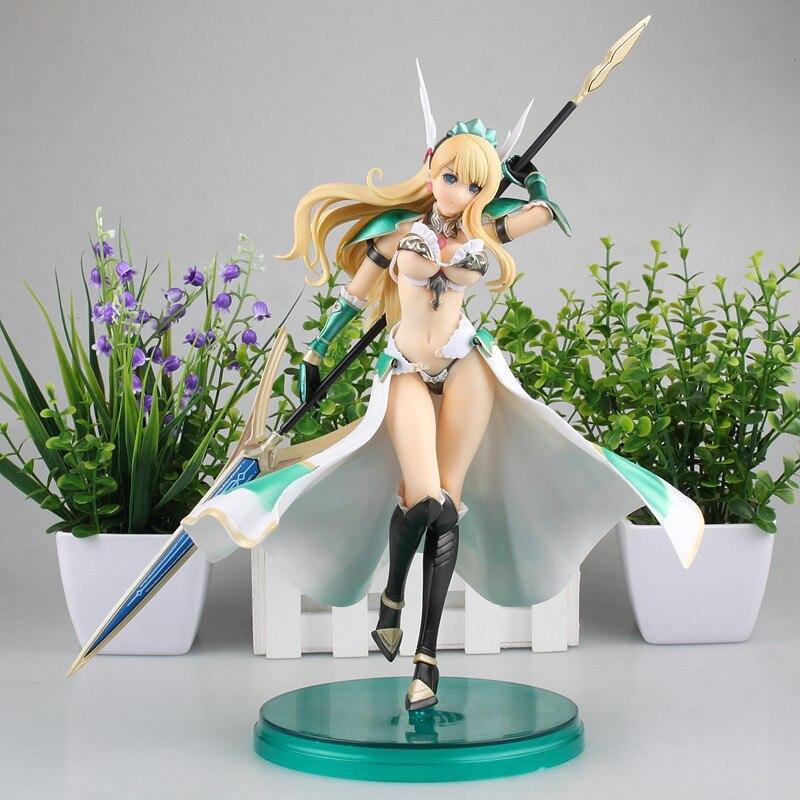 HKXZM Anime Figure 29 CM Bikini guerriers Valkyrie 1/7 échelle Sexy fille PVC Figure poupée résine à collectionner jouets modèle cadeau