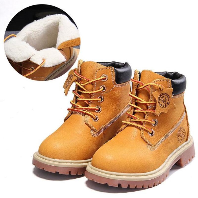 Novi visoke kvalitete od prave kože dječak djevojka čizme 21-37 - Dječja obuća - Foto 6