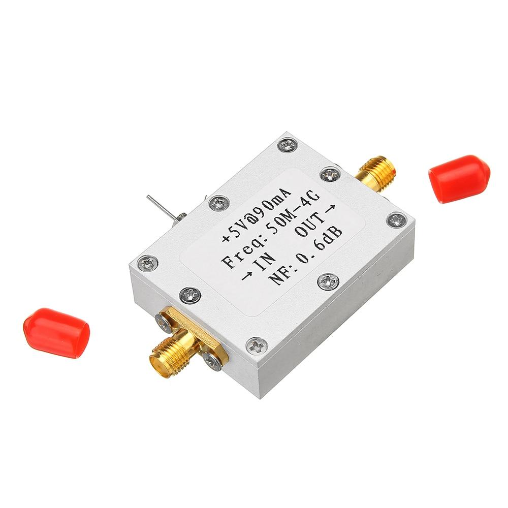 CLAITE amplificador de RF amplificador de bajo ruido de Radio de jamón para LNA 50 M-4 GHz NF = 0.6dB RF FM HF VHF/UHF Radio de jamón-110dBm