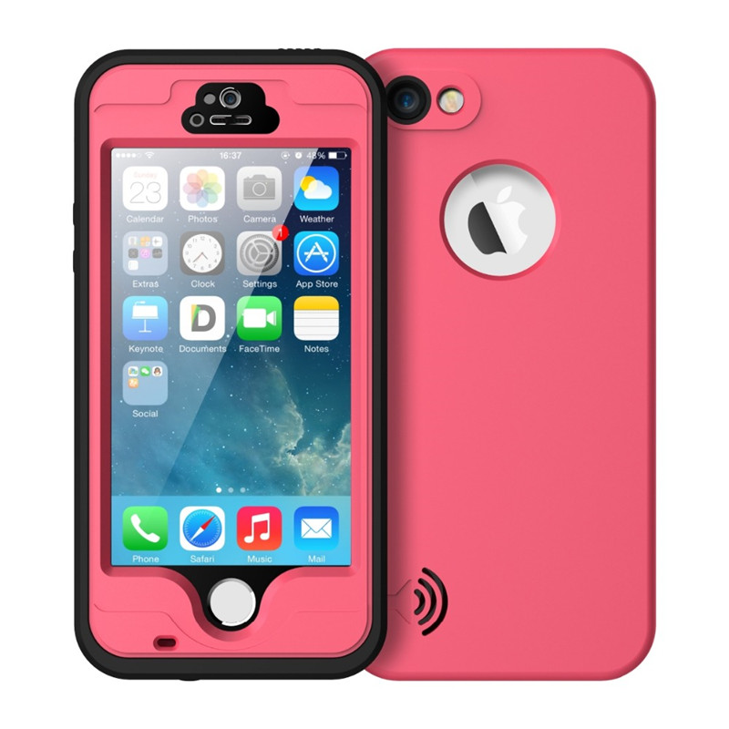 For iphone SE Waterproof Case Life Water Proof Diving Protection Case for iPhone 5s 5g 5C Cover with Touched Screen Protector