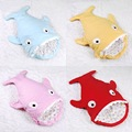 Qiu dong the day thickening and pure cotton baby sharks sleeping bag children infants baby kick a quilt.
