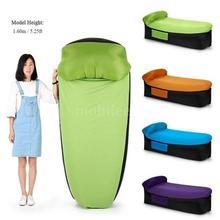 Компактный размер Открытый Отдых Путешествия Открытый надувной стул диван Портативный Путешествия кресло-пуф с подушкой