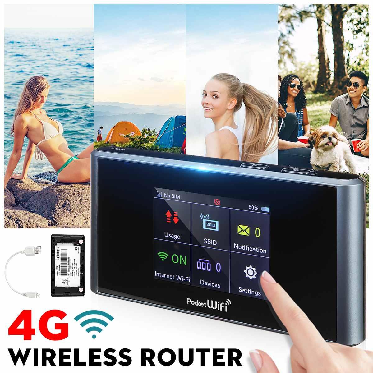 Routeur sans fil Portable Lte 4g Wifi routeur sans fil Hotspot prise en charge de la carte SIM Modem 150 Mbps pour téléphone Portable de bureau à domicile