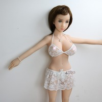 Athemis Babydolls & Chemises costume sexy white lace outfit for doll custom made size