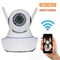 X-HONG IPC06 conectar la alarma del sensor de Inicio Vigilancia Cámara IP inalámbrica tarjeta SD de la ayuda 720 P HD IR Cut CCTV control de APP cámara
