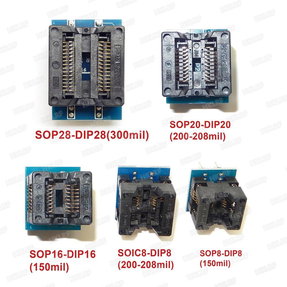 Adattatore per CS da SOIC8 a DIP8