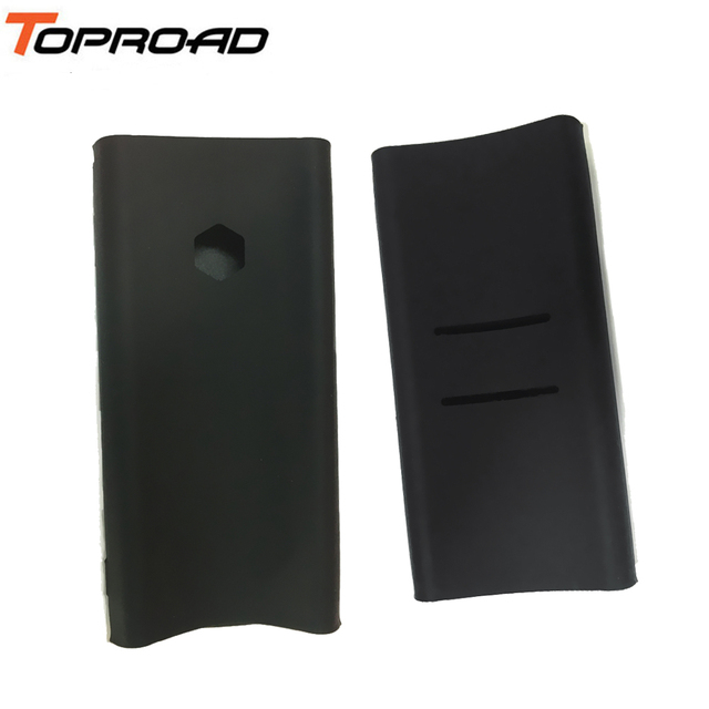sports shoes 488a9 53bab US $2.02 47% OFF|TAMPROAD Silicone Case for Xiaomi Power Bank 2C 20000mAh  Gel Rubber Cover Case for Mi Charger 20000MAH 2C Model Number PLM06ZM-in ...