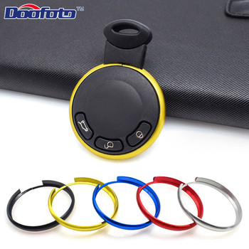 Doofoto Hot Sale Car Styling Key Protector Ring For Bmw Mini Cooper E60 E39 E36 E30 X5 R56 Cover Aluminum Alloy Auto Accessories image