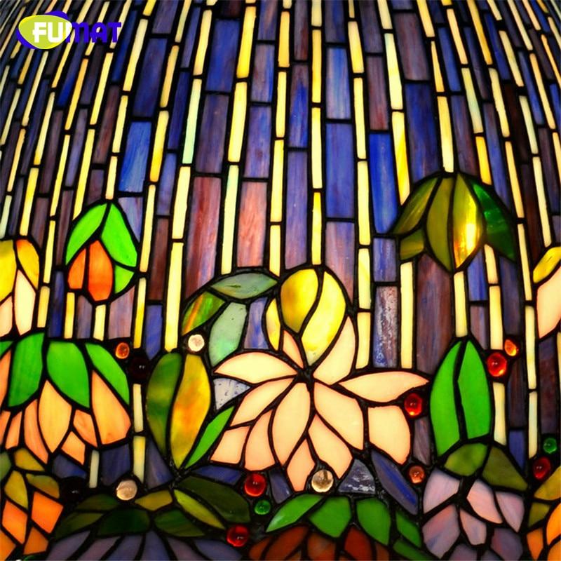FUMAT Glas Kunst Tischlampe Qualität Europäischen Stil Seerose - Innenbeleuchtung - Foto 4