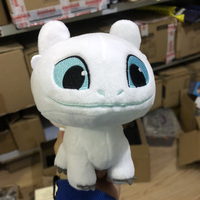 100pcs How To Train Your Dragon 3 Stuffed Plush Soft Toothless Night Fury Plush Toy Dragon White Toothless Plush Toys For Kids