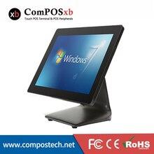 POS Системы 15-дюймовый Windows Сенсорный экран розничный магазин оборудование EPos POS машина черный и белый Цвет варианты