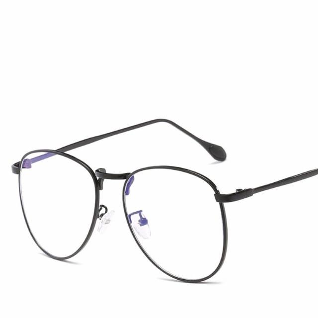 59ce67045c 1pcs Blue Light Blocking Computer Glasses for Anti Eye Strain UV  Transparent Lens
