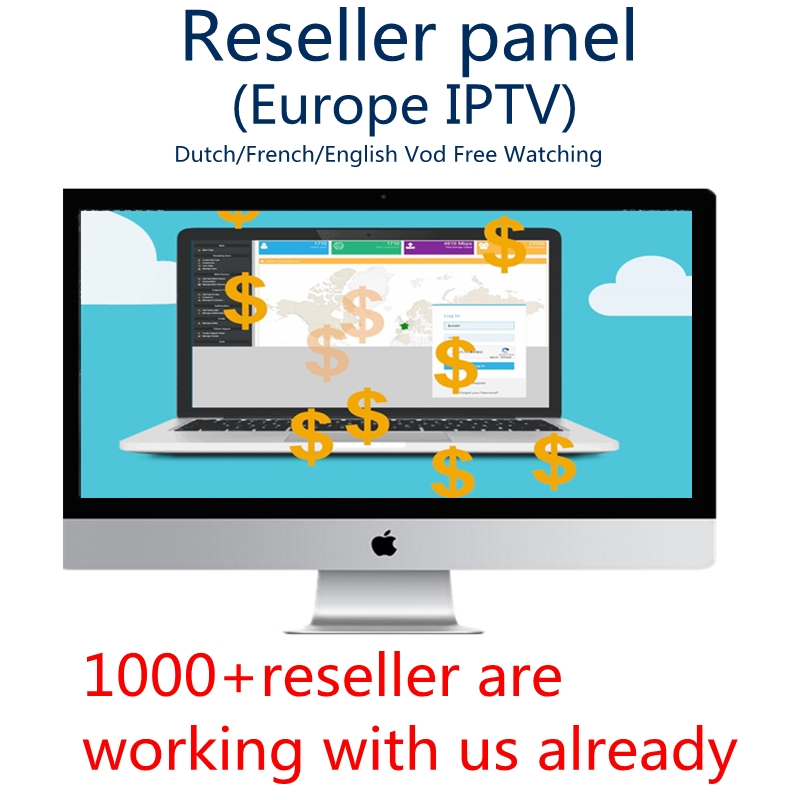 IPTV Subscription Reseller Panel Netherland IPTV French IPTV Arabic ENGLISH Support Android m3u enigma2 7000 live+VOD Admin