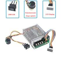 Digital Display 0~100% adjustable DC 10-50V 40A DC Motor Speed Controller PWM 12V 24V 48V 2000W MAX 60A Reversible new