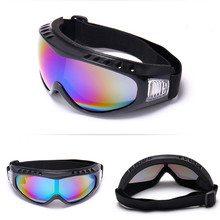 Winter Snow Sports Skiing Snowboard Snowmobile Anti-fog Goggles Windproof Dustpr