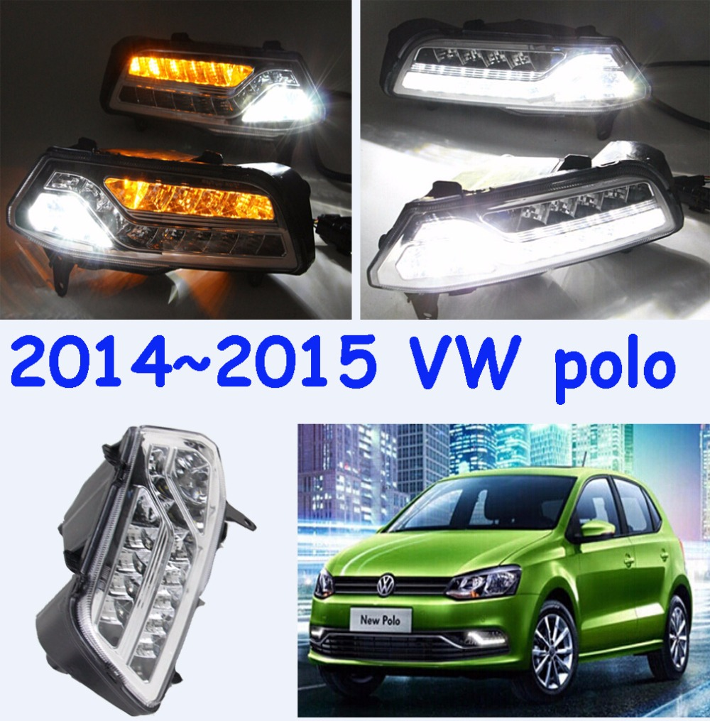 VW POLO daytime light;2015~2017,(Pls send your car picture in order) Free ship!LED,POLO fog light,2ps/set;VW POLO 2011 2013 vw golf6 daytime light free ship led vw golf6 fog light 2ps set vw golf 6