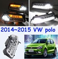 VW POLO daytime light;2015~2017,(Pls send your car picture in order) Free ship!LED,POLO fog light,2ps/set;VW POLO