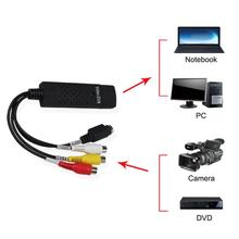 цена на All the way USB video capture card Free Drive Camera Computer Image Video Converter Capture Card video and audio converter