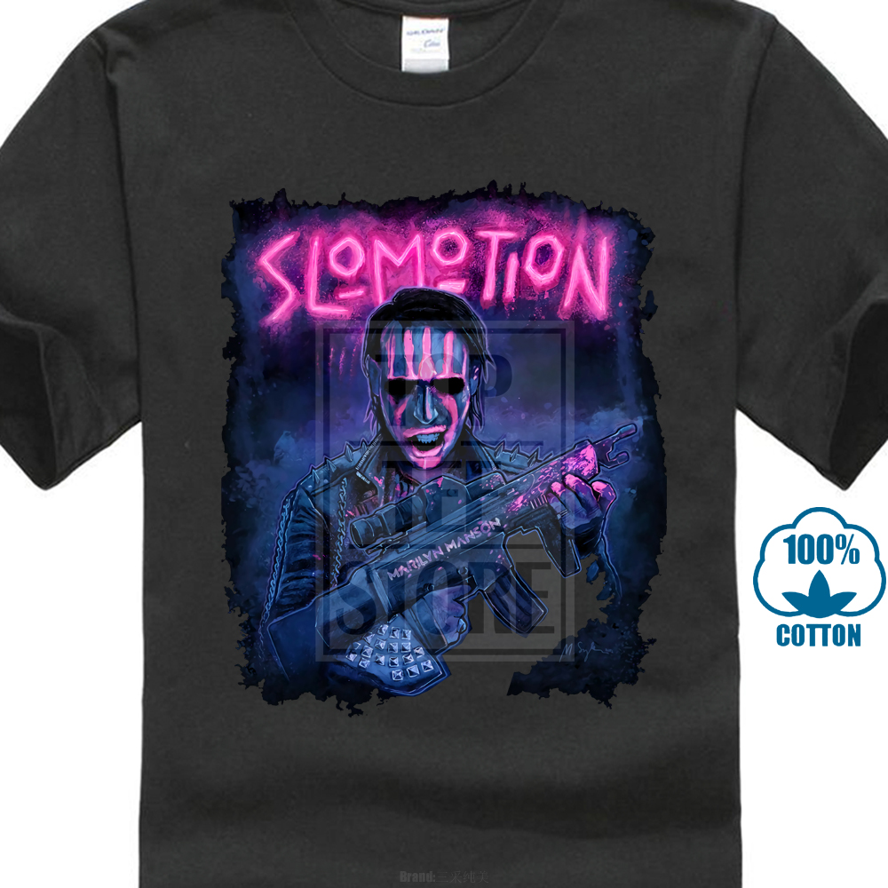 9c79f31c1e58 Marilyn Manson Sweat Dream T Shirt Design Logo Reprint Usa Size S ...