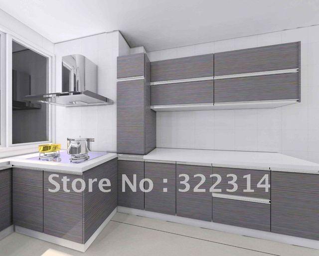 Mm compacte hpl laminaat voor keuken decoratie grijze