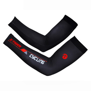 100% Lycra Correndo Ciclismo Mangas Braço de Proteção Esportes Basquete Respirável Quick-Seco UV400 Ciclismo Bicicleta Aquecedores de Braço
