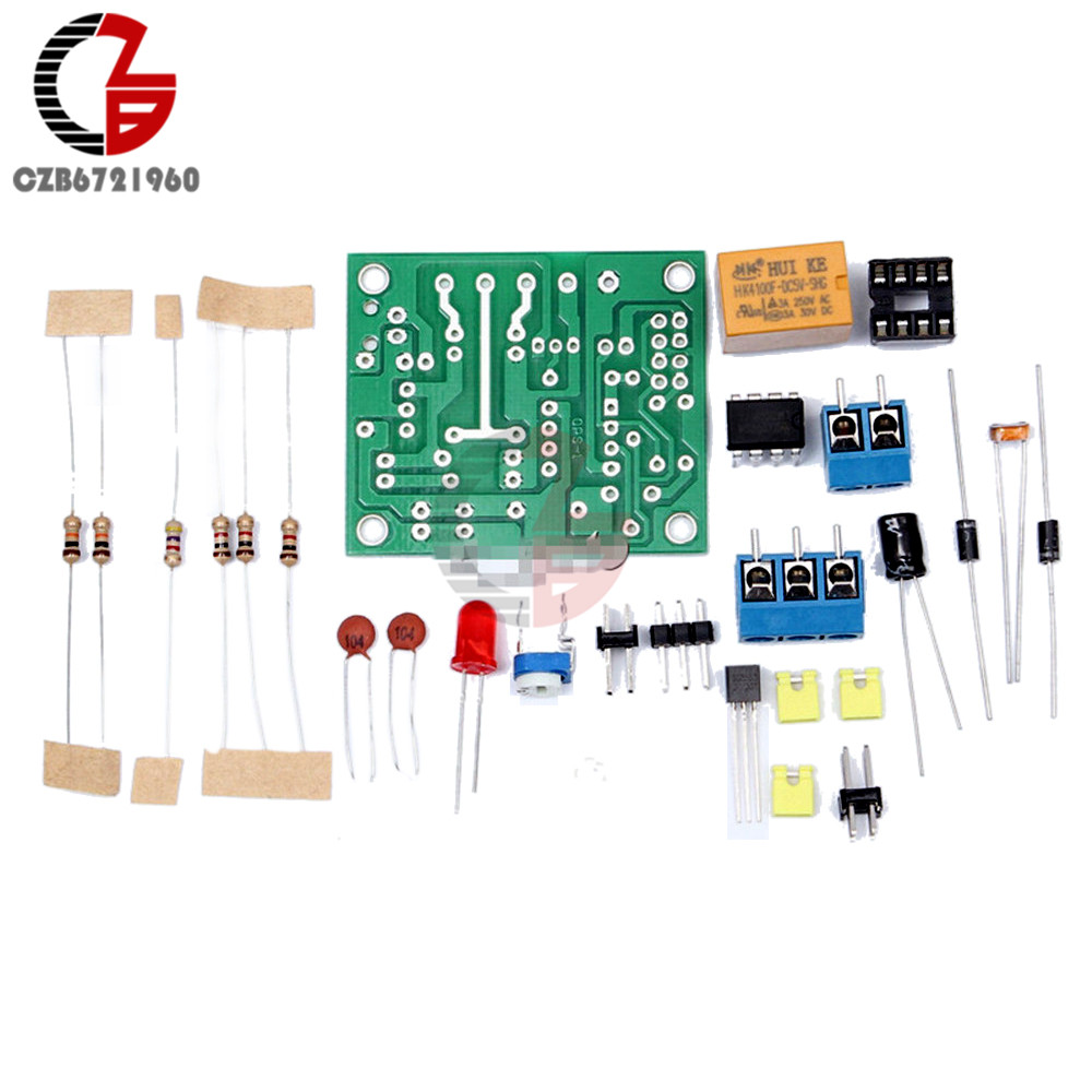Light Control Switch Module Diy Kit With 5v Relay Lm393 Electronic Infrared Proximity Sensor Circuit Using A Voltage Borad Photosensitive Dc 5 6v In Switches From Lights Lighting On