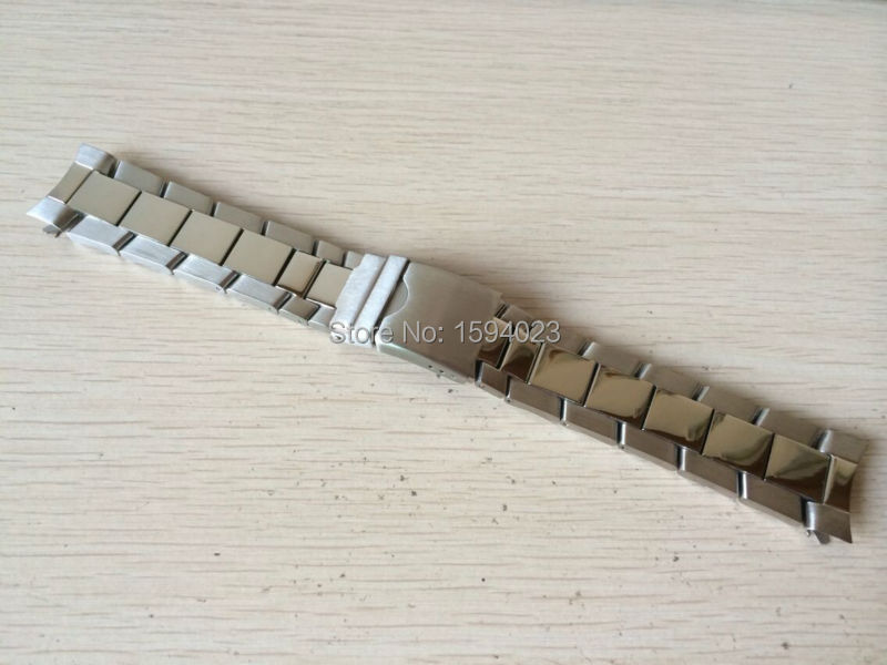 22mm (Buckle 20mm) T039417 NEW Pure Solid Stainless steel Watchband Watch Strap Bracelets For T039 led dynamo flashlight torch outdoor portable light hand press crank camping