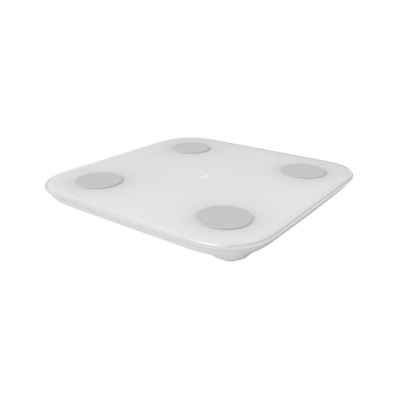 2019 Xiaomi báscula de composición corporal 2 13 macetas de análisis mi báscula de grasa corporal 2 mi fit Control de aplicación con oculto pantalla LED XMTZC05HM - 5