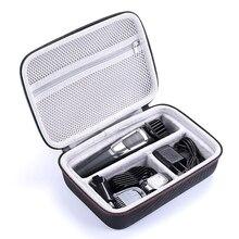 החדש EVA קשה נסיעות נייד תיק מקרה עבור פיליפס Norelco Multigroom סדרת 3000, MG3750 (מתאים 13 קבצים מצורפים) נשיאת כיסוי