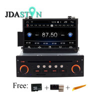 JDASTON Android 6 0 Touch Screen 1 Din Car CD DVD Player For Citroen C5 GPS
