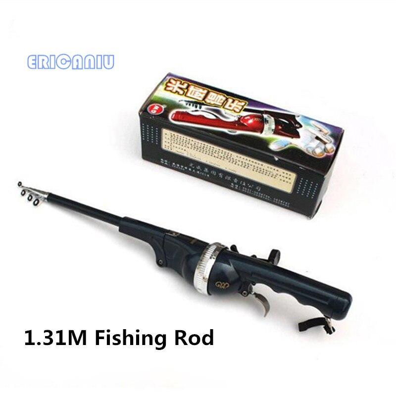 2016 new portable folding fishing rod sea folding fishing for Foldable fishing rod