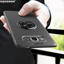 For Samsung Galaxy J2 Prime Case Finger Ring Car Magnet Holder Soft Silicone Back Cover For Samsung Galaxy J2 Prime Coque5.0inch смартфон samsung galaxy j2 prime sm g532f золотой