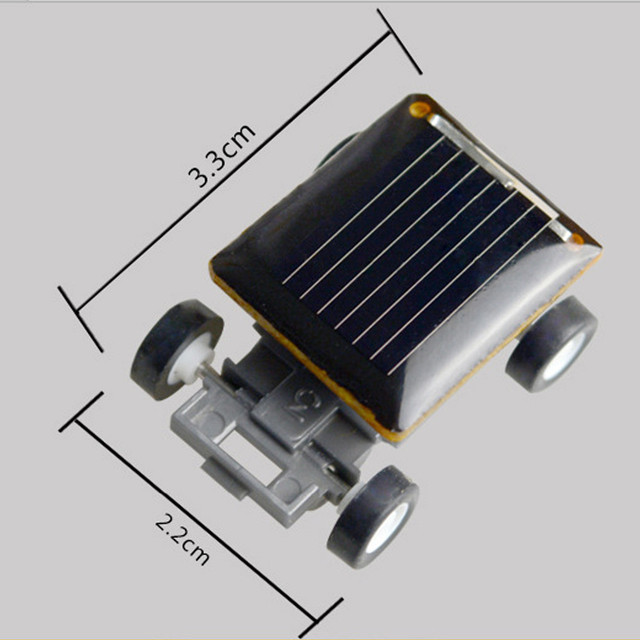 Smallest Mini Solar Power Toy Car 6