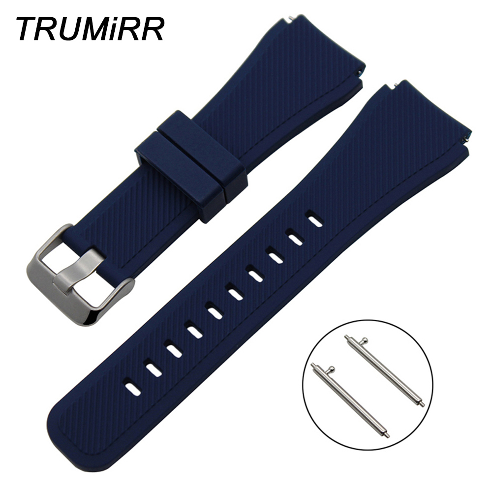 Quick Release Silicone Rubber Watchband 21mm 22mm for Maurice Lacroix Men Women Watch Band Wrist Strap Bracelet Black Brown Blue maurice lacroix el1094 pvp06 150 1