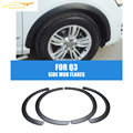 PP Q3 car fender flares kit for Audi,auto side Mud flares for Q3 fit any year