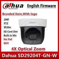 Dahua Originale Inglese SD29204T-GN-W sostituire DH-SD29204S-GN-W Wifi IP 2MP Mic PTZ Dome Camera wireless 4X Zoom SD29204T-GN