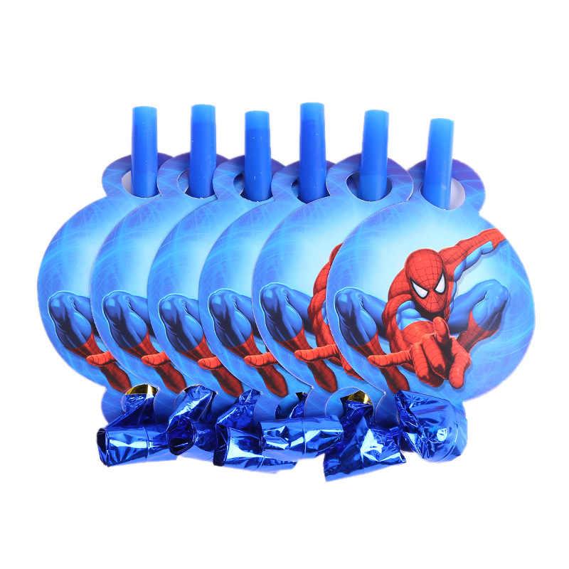 6pcs ของขวัญ Spiderman Candy กล่องข้าวโพดคั่วสำหรับงานแต่งงาน PARTY ตกแต่งห้องอาบน้ำเด็กวันเกิดคริสต์มาส