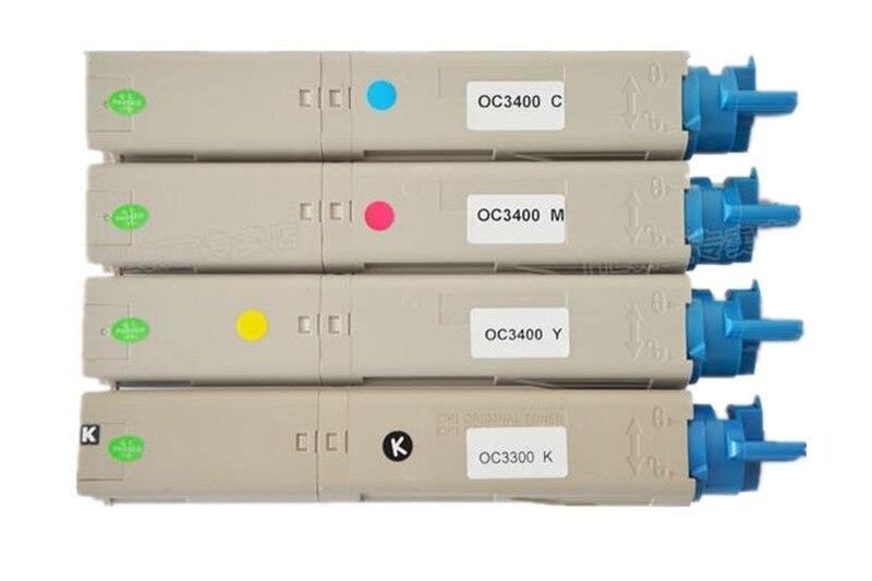 Livraison gratuite pour cartouche de Toner compatible OKI C3300 C3400 C3530 C3520 C3500 C3600
