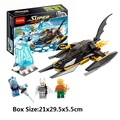 198 unids Ártico Batman vs Mr Freeze Marvel DC Super Heroes bloques de Construcción de regalo compatible con legoeds